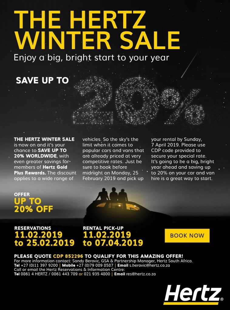 hertz winter sale
