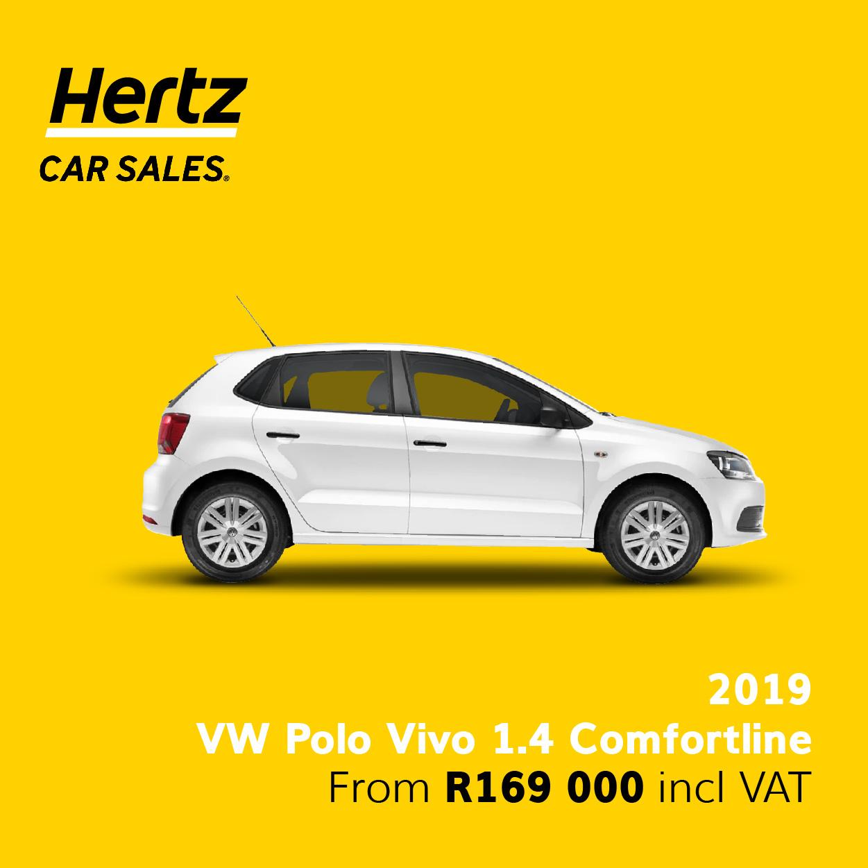 2019 VW Polo Vivo Comfortline