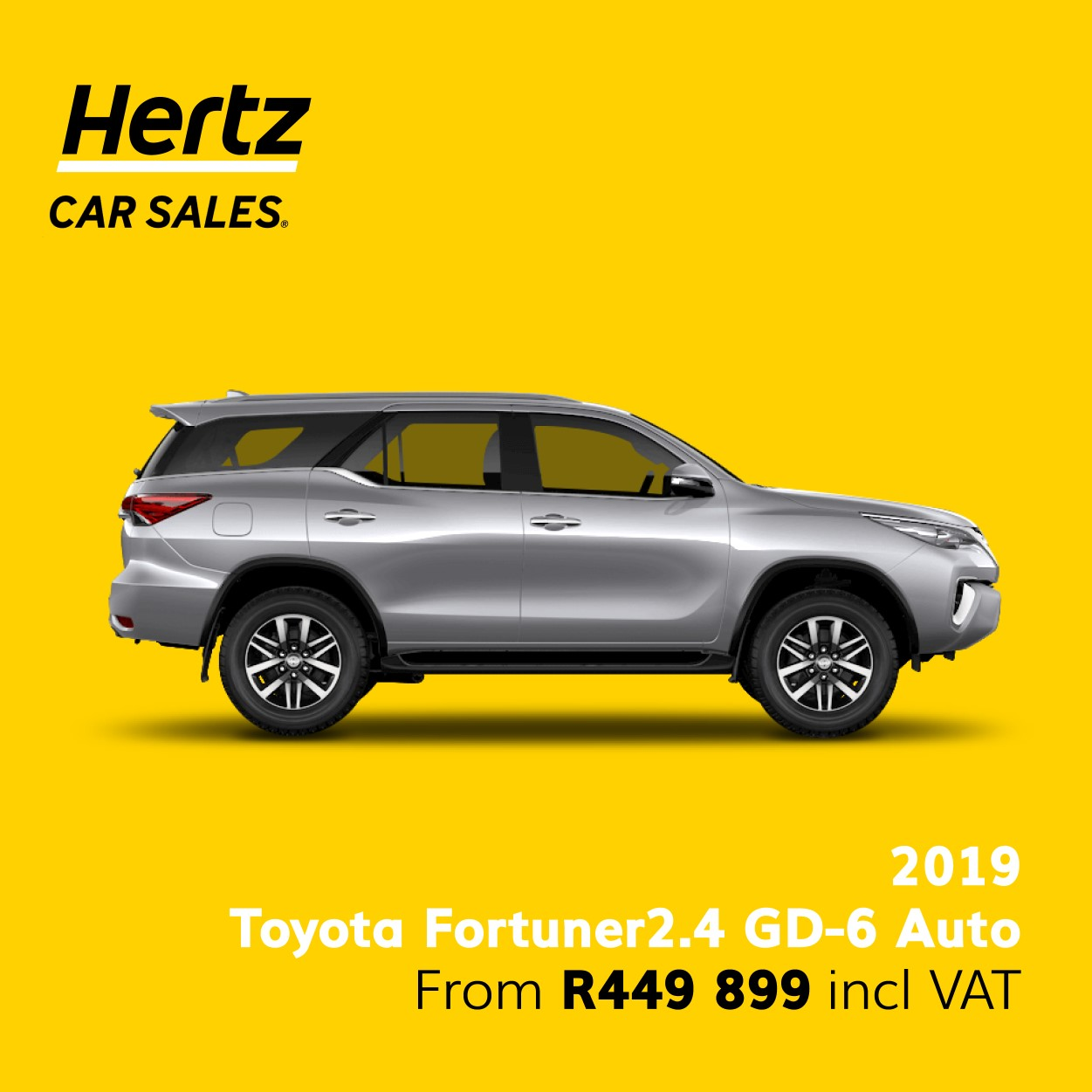 2019 Toyota Fortuner 2.4 GD6 Auto