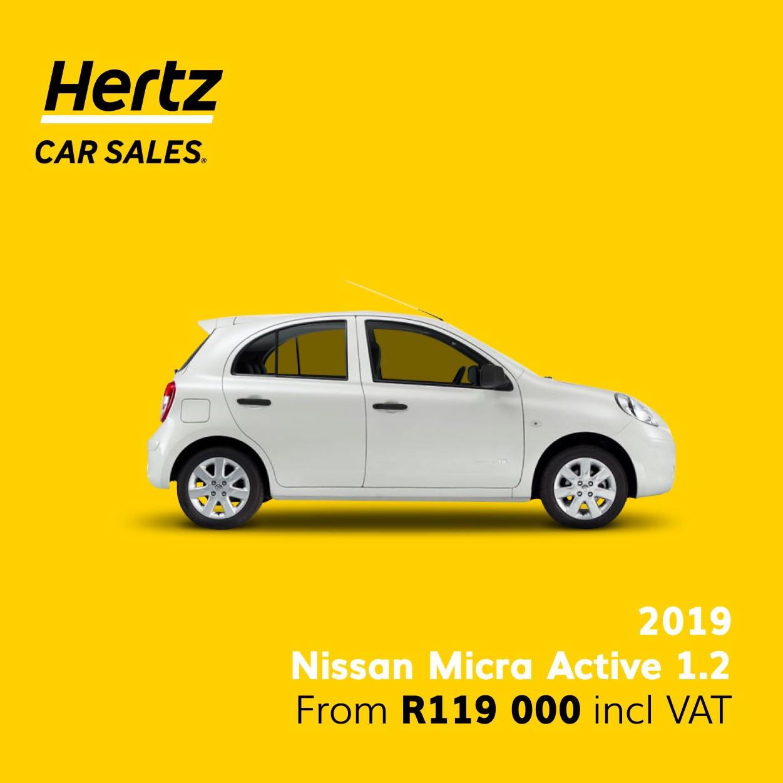 2019 Nissan Micra Active 1.2